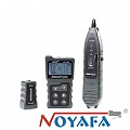 Cable tester RJ-45, w/LCD. PoE and port flash  (NOYAFA NF-8209)