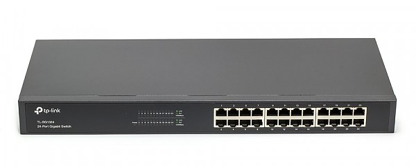 TP-Link TL-SG1024, Unmanaged switch, 24x 10/1000 RJ-45, 19""