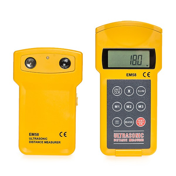 E-Sun EM58 - Digital distance meter, dual unit measurement