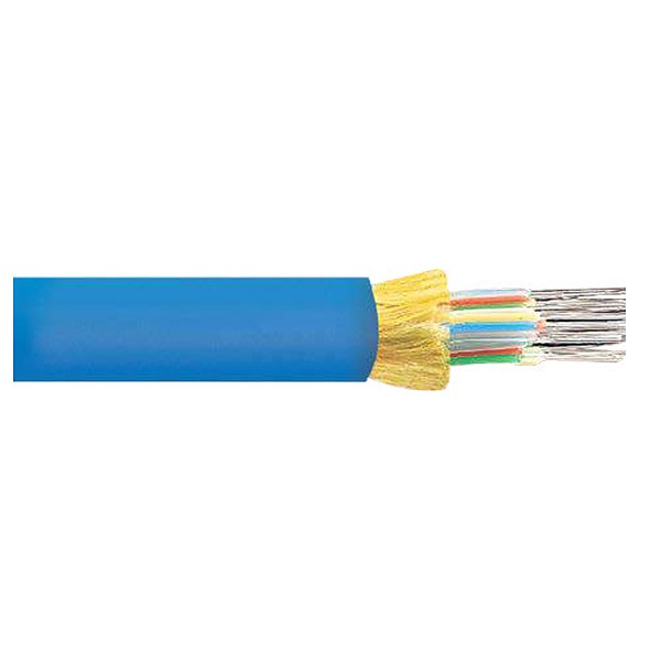 Fiber optic cable, indoor, mini-breakout, 4x50/125/900, OM2 fiber, LSZH